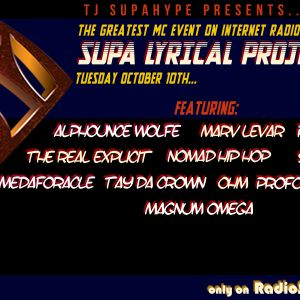 TJ SupaHype presents the SUPA LYRICAL PROJECT 7! 10/10/17