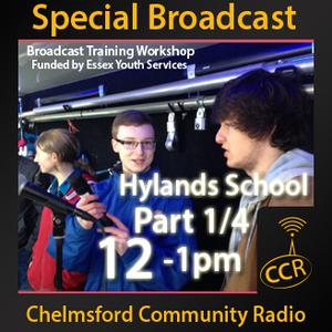Broadcast Workshop Part 1 - @ChelmsfordCR - Hylands School - 13/02/15 - Chelmsford Community Radio