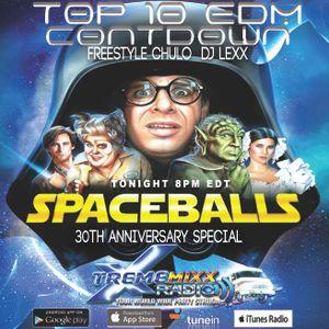 TOP EDM COUNTDOWN Spaceballs 30th Anniversary Tribute 6-27-17