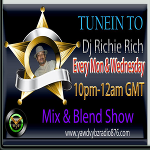 DJ Richie Rich Yawd Vybz 876 Radio Show 16/01/17