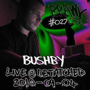 Bushby - Live @ Detatched 2010-10-04