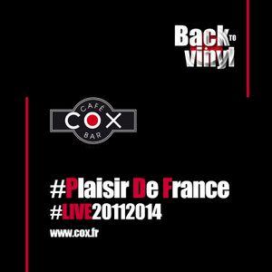 #cox #PlaisirDeFrance #live #vinyle #20112014