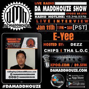 Da Maddhouze sits down with E-Yee on KPOO 89.5 FM