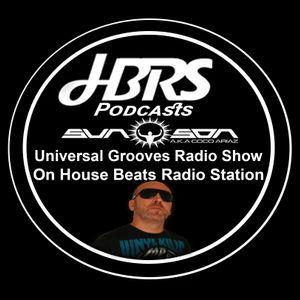 Sun Son AKA Coco Ariaz Presents Universal Grooves Radio Show Live On HBRS 01-11-16