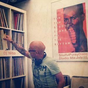 SoulfulFunkyDisco Studio Mix July 2016 @ Tom Tom Studio