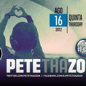 Di Paul @ Seven 16 Agosto 2012 - Pete Tha Zouk