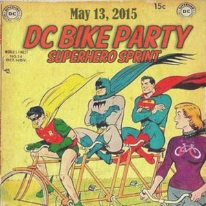 Shahid Buttar's Superhero Supermix for the DC Bike Party Superhero Sprint (05.13.2015)