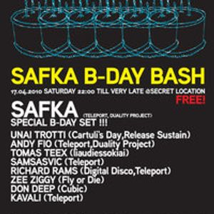 Special set from Safka B-Day!