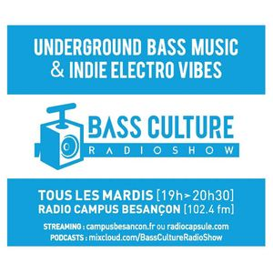 Bass culture Radio Show #  28-02-2017
