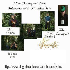 Kiler Davenport Live: Interview with Klassika Trio