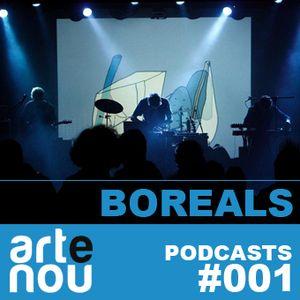 ARTeNOU-podcast vol. I presents BOREALS mixtape