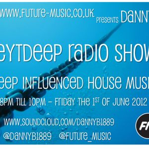 Danny B's REYTDEEP Radio show on www.future-music.co.uk - Deep Tribal House