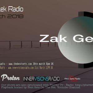 Zak Gee - Se-Lek Radio 30th March 2018