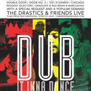 SDS 1-10-2015 Ft The Drastics & MC Zulu, Set 1, Double Door - Door No. 3 - Chicago, IL