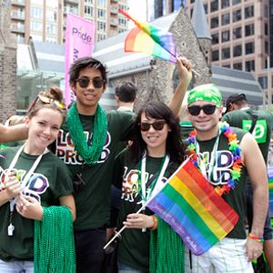 DJ mix for 2014 Pride Parade in Halifax for TD