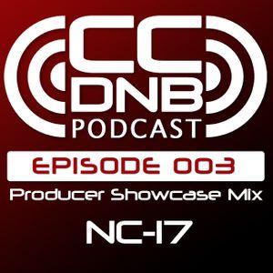 CCDNB 003 Producer Showcase Mix feat NC17