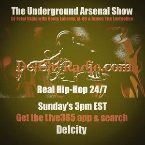 The Underground Arsenal Show 12-13-15