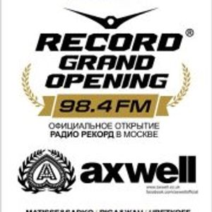 Axwell - Live @ Izvestiya Hall, Record Grand Opening (Moscow)(HQ) - 04.02.2012 - www.LiveSets.at