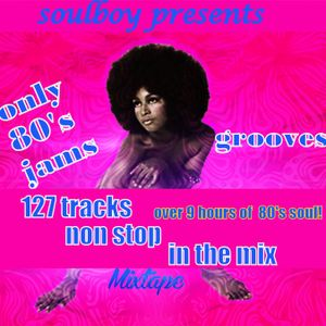 only 80's soul jams & grooves and boogie part1