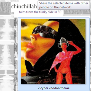 02. cyber voodoo theme - tales from the funky side in 3D