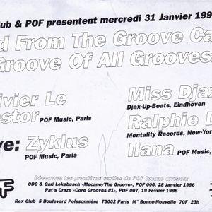 RALPHIE DEE LIVE AT THE REX CLUB - PARIS, FRANCE 1996