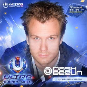 Dash Berlin @ Ultra Buenos Aires 21.02.2015