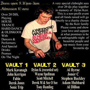 Dylan Kerr Benefit Night Mix recording 8-10-2011