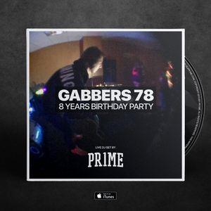 GABBERS78 8 Years Birthday Party