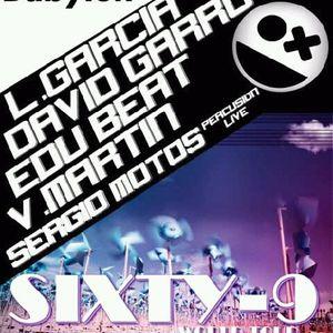 David Garro & Edu Beat feat Sergio Motos(Percussion Live)@Babylon