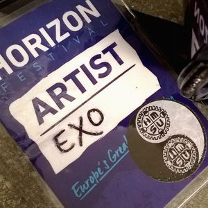 EXo - warming up for KiNK x Goldie at Horizon Festival 2016