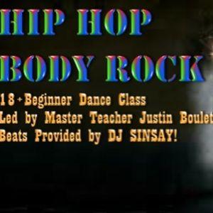 SinSay LIVE @ Hip Hop | Body Rock | June 29