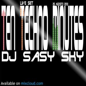 Dj Sasy Sky - Ten Techno Minutes 2.0