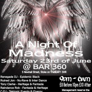 Renegade Dj LIVE @ HeavenzHalo, Stoke-On-Trent 23rd June 2012 Feat MC UV