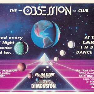 DJ Sy & MC Scratchmaster @ Obsession 3rd Dimension Westpoint 1992