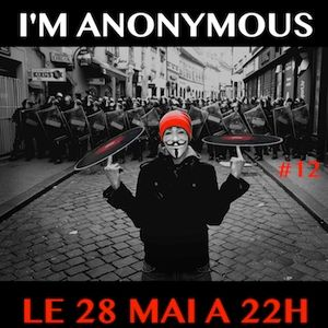 F*** Me I'm Anonymous #12 - part 2 - live au Mark XIII - 28/05/2014