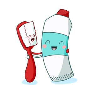 Don't forget your toothpaste