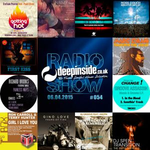 DEEPINSIDE RADIO SHOW 054 (Marc Evans Artist of the week)