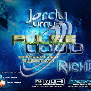 Jordy Jurrius - Pulse Liquid Episode 002 (incl. guest mix RichD) (May 8 & 9 2013)