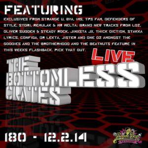 The Bottomless Crates Radio Show 180 - 12/2/14