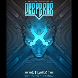 CJ Art @ Deeperrr (Deepersense X B-day) warm up for John 00 Fleming [Kraków - Poland] (23-11-2019)