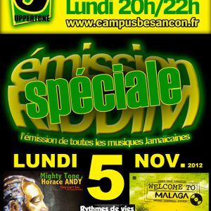 Emission RIDDIM 5 novembre 2012