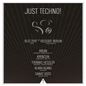 88uw @ Just Techno - Ressort Berlin - 16.12.2011