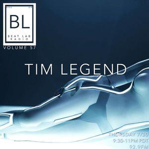 Tim Legend - Beat Lab Radio 57 Exclusive Mix
