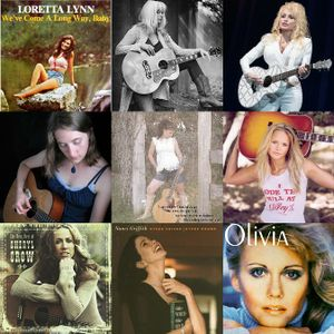 Ladies Country  /   Various Artists   /  Boxcar Records   /  Not for Sale     2015