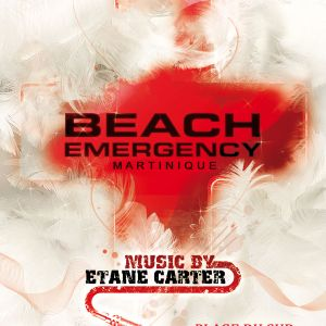 Beach Emergency (23h45 -> 00h20) by Bryan Stormer @Le Touloulou, Sainte-Anne, Martinique, 28/07/2012