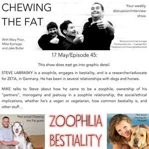 Episode 45 - Steve Lebrasky - Zoophile/Bestiality Practitioner (ZETA Germany)