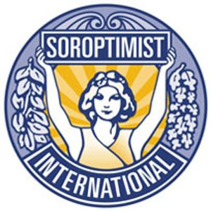 Soroptimist International Daphne Regional President and Jenny Tiverton President