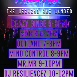 Mind Control - Noise Pollution Friday Night Sessions - The Weekend Has Landed 19/3/2021
