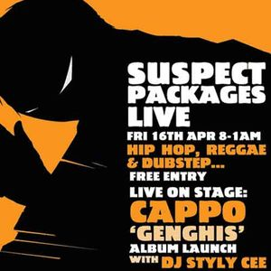 Cappo & Styly Cee @ Suspect Packages Live 16/04/10