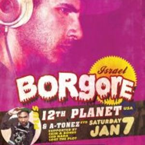 Ced Nada - DJ support set at Borgore/12th Planet, Trinity Bar, 7/1/12